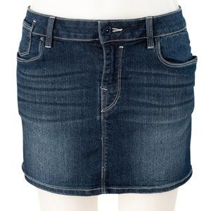 Esprit EDC Denim Mini Skirt Size 8